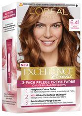 L'Oréal Paris Excellence Crème 6.41 Helles Caramelbraun Coloration 1 Stk. Haarfarbe