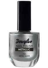 DOUGLAS COLLECTION - Douglas Collection Nagellack Nr. 750 - Metal Silver Nagellack 10.0 ml - NAGELLACK
