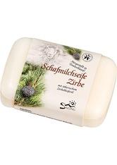 SALING - Saling Produkte Schafmilchseife - Zirbe 100g Stückseife 100.0 g - SEIFE