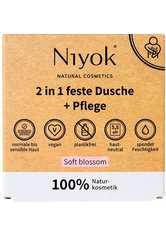Niyok Produkte 2in1 feste Dusche+Pflege - Soft blossom 80g Duschgel 80.0 g