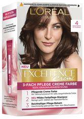 L'Oréal Paris Excellence Crème 4 Mittelbraun Coloration 1 Stk. Haarfarbe