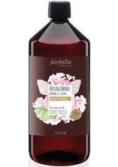 Farfalla Produkte Rosengeranie - Mildes Shampoo Refill 1l Haarshampoo 1000.0 ml