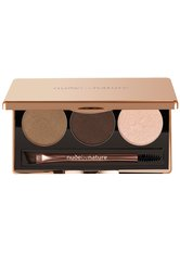 NUDE BY NATURE - Nude by Nature Natural Definition Augenbrauen Palette  6 g Nr. 02 - Brown - Augenbrauen
