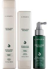 Lanza Haarpflege Healing Nourish Nourish Retail Kit Stimulating Shampoo 300 ml + Stimulating Conditioner 250 ml + Stimulating Hair Treatment 100 ml 1 Stk.