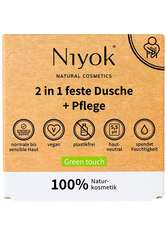Niyok Produkte 2in1 feste Dusche+Pflege - Green touch 80g Duschgel 80.0 g