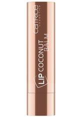 CATRICE - Catrice Lip Gloss Catrice Lip Gloss Lip Coconut Balm Coconut Kiss Lippenbalm 4.8 g - Lippenbalsam