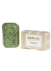 Nablus Soap Produkte Olivenseife - Thymian 100g Körperseife 100.0 g