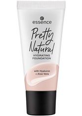 essence Pretty Natural Hydrating Flüssige Foundation 30 ml Nr. 10 - Cool Porcelaine