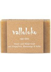 Valloloko Produkte Hand- und Körperseife - Ripe Time 100g Körperseife 100.0 g