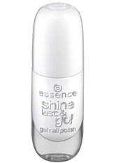 essence - Nagellack - shine last & go! gel nail polish - 33 wild white ways