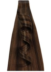 DESINAS - Desinas Produkte Desinas Produkte Tape In Extensions Highlights schokobraun Tape In Extensions 20.0 pieces - Extensions & Haarteile