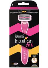 Wilkinson Intuition Intuition fab Damen Rasierer mit 1 Rasierklinge Rasiergel 1.0 pieces