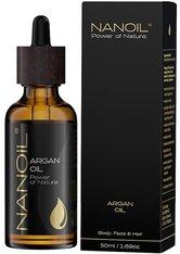 Nanoil Gesichtspflege Argan Oil Körperpflege 50.0 ml