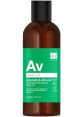 Dr Botanicals Produkte Avocado & Mandel Superfood Pflegendes Körperöl Körperöl 200.0 ml