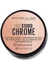 Maybelline Face Studio Chrome Jelly Highlighter 9.5 ml Nr. 20 - Metallic Rose