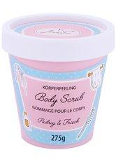 BadeFee Candy Line Pudrig & Frisch Körperpeeling  275 ml