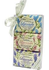 Nesti Dante Firenze Pflege Sets Lavanda Soap Set 1 x Rosa del Chianti Soap 150 g + 1 x Blu del Mediterraneo Soap 150 g + 1 x Officinale Soap 150 g 1 Stk.