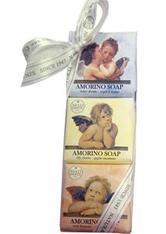 Nesti Dante Firenze Pflege Sets Amorino Soap Set 1 x Lily Charm Soap 150 g + 1 x Water Dream Soap 150 g + 1 x Rose Bouquet Soap150 g 1 Stk.