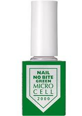 MICRO CELL - Micro Cell Pflege Nagelpflege Nail No Bite Green 12 ml - BASE & TOP COAT