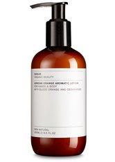 Evolve Organic Beauty Körperpflege African Orange Aromatic Lotion Körpercreme 250.0 ml