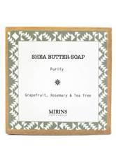 MIRINS COPENHAGEN - Shea Butter Soap Purify - Rosemary, Tea Tree & Mint 75 g - DUSCHEN & BADEN