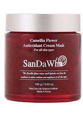 SANDAWHA NATURKOSMETIK - San Da Wha Camellia Flower Antioxidant Cream Mask 100 Gramm - CREMEMASKEN