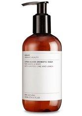 Evolve Organic Beauty Körperpflege Citrus Blend Aromatic Wash Körperseife 250.0 ml