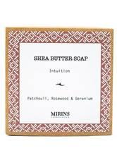MIRINS COPENHAGEN - Shea Butter Soap Intuition - Patchouli, Rosewood & Geranium 75 g - DUSCHEN & BADEN