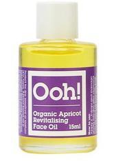 Oils of Heaven Organic Apricot Revitalising Face Oil Gesichtsöl 15 ml