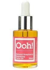Oils of Heaven Natural Raspberry Repairing Face Oil Gesichtsöl 30 ml