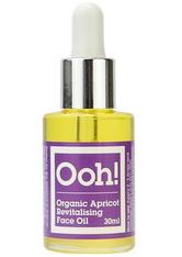 OOH! OILS OF HEAVEN - Organic Apricot Revitalising Face Oil - 30 - GESICHTSÖL