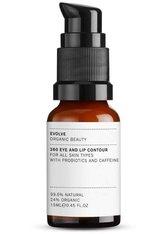Evolve Organic Beauty Hautpflege 360 Eye and Lip Contour Augencreme 15.0 ml