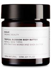 evolve organic beauty Tropical Blossom Body Butter 30 ml - Hautpflege