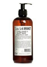 L:A BRUKET - La Bruket Körperpflege Seifen Nr. 194 Hand & Body Wash Grapefruit Leaf 450 ml - SEIFE