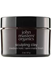 John Masters Organics Haarpflege Styling & Finish Sculpting Clay Medium Hold 57 g