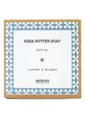 MIRINS COPENHAGEN - Shea Butter Soap Calming - Lavender & Bergamot 75 g - DUSCHEN & BADEN