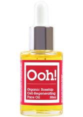 OOH! OILS OF HEAVEN - Oils of Heaven Organic Rosehip Face Oil  Gesichtsöl  30 ml - Gesichtsöl