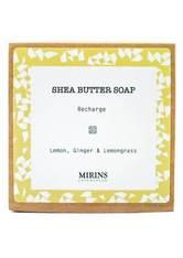 MIRINS COPENHAGEN - Shea Butter Soap Recharge - Lemon, Ginger & Lemongrass 75 g - DUSCHEN & BADEN