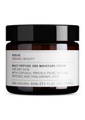 EVOLVE - evolve organic beauty Multi Peptide 360 Moisture Cream 60 ml - TAGESPFLEGE