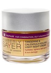 Tangerine & Calendula Healing Light Night Cream 60 ml
