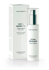 MÁDARA - MÁDARA Time Miracle Total Renewal Night Cream 50 ml - NACHTPFLEGE
