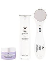 PRAI - PRAI Beauty Ageless Ionensystem und Serum für den Hals - PFLEGESETS