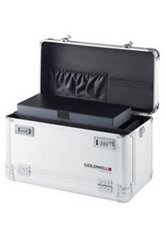 Goldwell Alu-Werkzeugkoffer mit dem Goldwelllogo