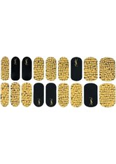 Aktion - Yves Saint Laurent Couture Pretty Metal Rebel Nail Jewel Patches Nagelsticker