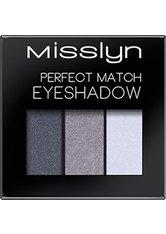 MISSLYN - Misslyn Perfect Match Eyeshadow Black Velvet 03 1,2 g Lidschatten - Lidschatten