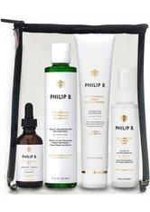 Philip B Four-Step Hair + Scalp Treatment Kit Classic - Paraben Free Haarpflegeset  1 Stk