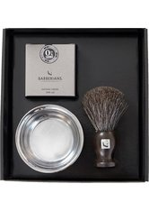 Barberians Giftbox Barber Kit - Shaving Brush Pure Badger, Shaving Cream & Bowl Pflegeset