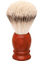 Becker Manicure Shaving Shop Rasierpinsel Rasierpinsel Wurzelholz, Silberspitz 1 Stk.