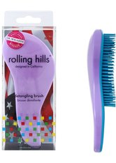 Rolling Hills Professional Detangling Brush Light Purple Haarbürste