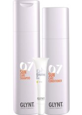 Aktion - Glynt Sun Care Shampoo + Conditioner + Lippenpflegestift Haarpflegeset